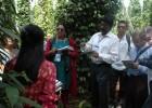 Các nhà khoa học quốc tế thăm vườn tiêu thâm canh tại xã Quảng Thành, Châu Đức,  Bà Rịa-Vũng Tàu