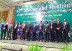 Thứ trưởng Lê Quốc Doanh và các đại biểu IPC khai mạc hội nghị