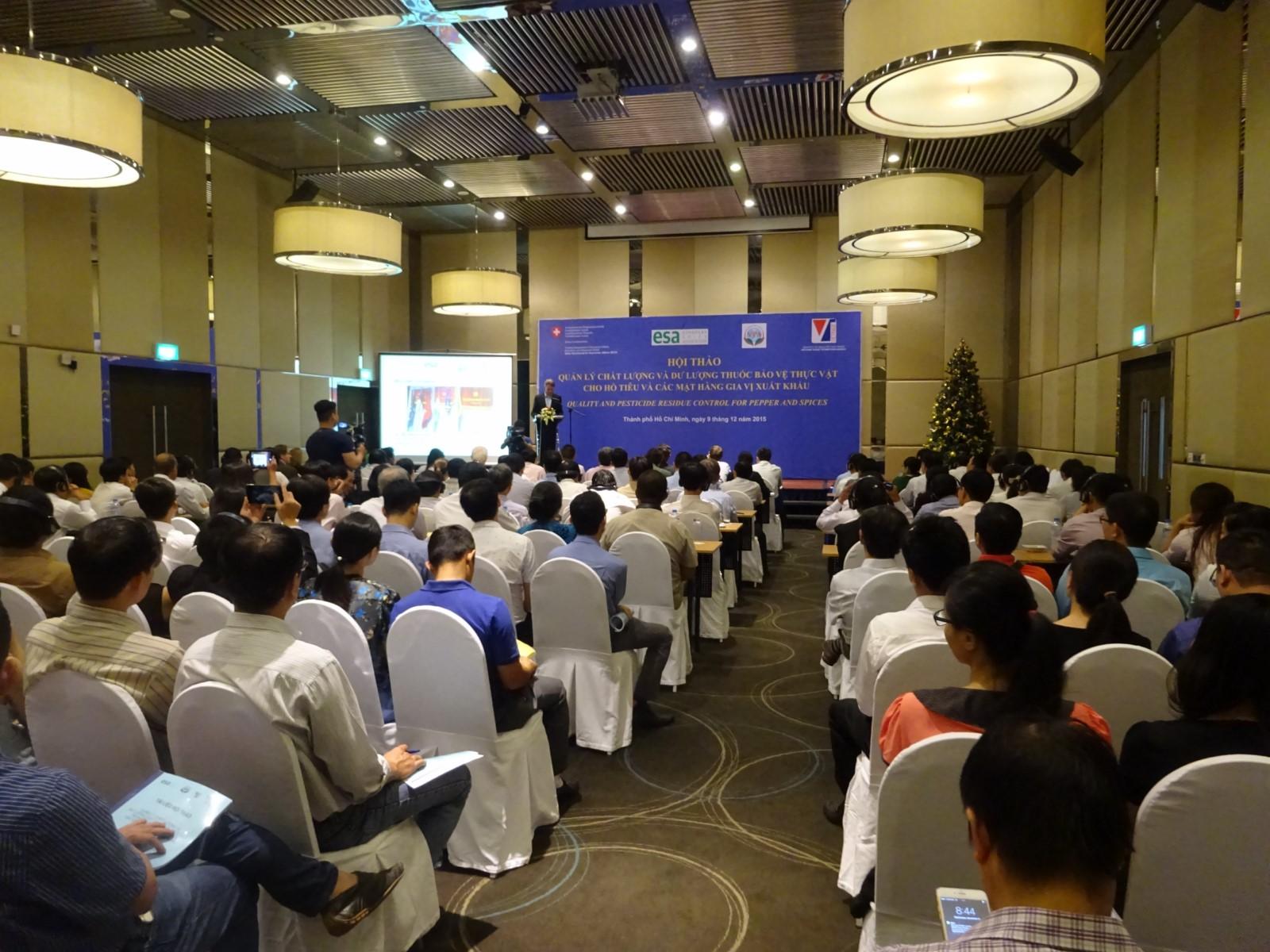Toàn cảnh Hội nghị ngày 15/12/2015 tại Tp.HCM