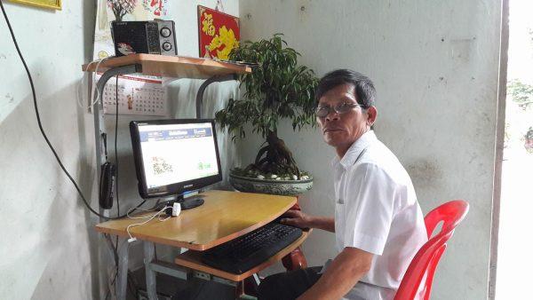 Lão nông @ Trịnh Văn Ba ở khối 11, thị trấn Ea K'Nôp, huyện Ea Kar...